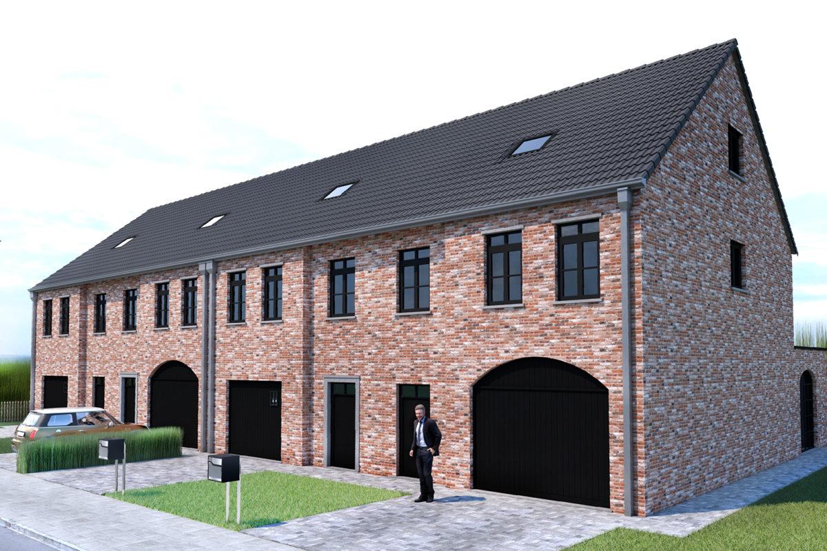 Project Oost-Eindeken - 4 woningen